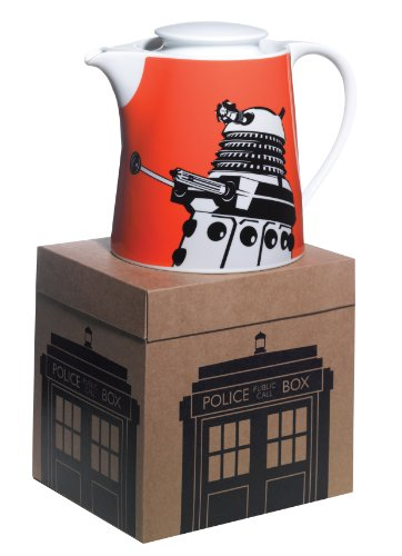 Doctor Who Dalek Design Boxed Teapot from BBC Worldwide