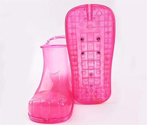 De Pieds Pantoufles Pieds Pédicure LUCKY Massage Sandales Massage Spa Repose pink Couple Bain CLOVER Relax Femmes Antidérapantes Hommes A Bottes aq6wwCtIRx
