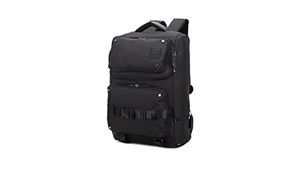 BEIBAO Vintage hombres bolsa de viaje, mochila de gran capacidad, mochilas de senderismo al aire libre, un ordenador de bolsillo, bolsillo para el móvil, ...