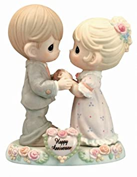 Precious Moments, Our Love Was Meant To Be, Bisque Porcelain Figurine, 115909