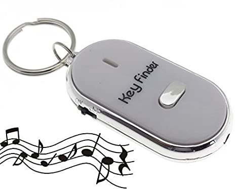 Pfiff receptor LED blanco de llaves Key Finder llavero ...