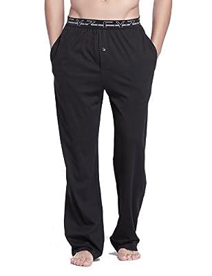CYZ Men's 100% Cotton Knit Pajama Pants
