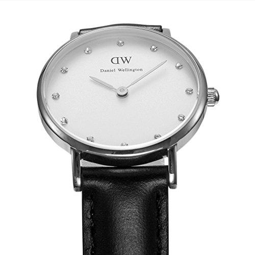 Bracelet Montre Wellington Cuir Femme Noir Blanc 0921dw Analogique Daniel Classy Quartz Cadran Sheffield lJ3uTF1cK