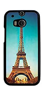 Paris Eiffel Tower Hard Case for HTC ONE M8 ( Sugar Skull )