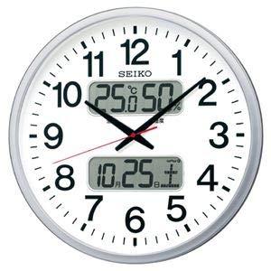 セイコー 電波掛時計 ホワイト KX237S   B07RJJ26YD