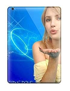 Ipad Air Case Bumper Tpu Skin Cover For Emma Roberts?wallpaper Accessories
