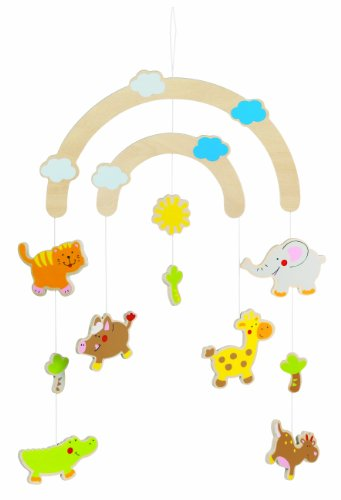 Goki Mobile Jungle friends Baby (Jungle Friends Mobile)