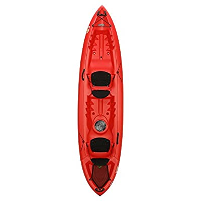 90620 Lifetime Beacon Tandem Kayak, Red, 12' from Lifetime OUTDOORS
