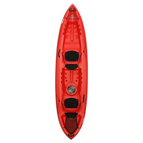 Lifetime Beacon Tandem Kayak, Red, 12'