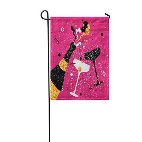 Vooft Double Sided Garden Flag 12