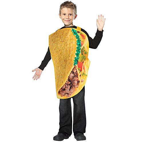 SP Funworld Taco Costume Kids Funny Lightweight Taco Costumes -