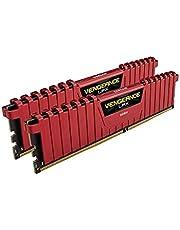 Corsair Vengeance LPX 16Go (2x8Go) DDR4 3200MHz C16 XMP 2.0 Kit de Mémoire Haute Performance - Rouge