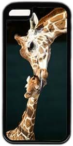 Giraffe Kissing Baby Theme Iphone 5c Case