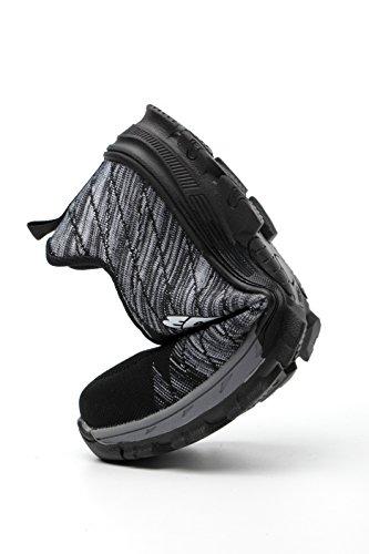 di Uomo Comodissime antinfortunistiche UK Industria cantiere da Scarpe in con Grigio per Stival Sicurezza Lavoro Sneaker escursionismo Traspiranti Scarpe Acciaio Donna Calzature Edilizia da Punta S3 Aizeroth 15qwvx0x