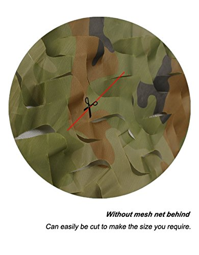 Review LOOGU Camo Netting, Camouflage Net Blinds Great For Sunshade Camping Shooting Hunting etc.