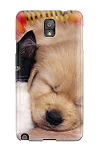 Note 3 Scratch-proof Protection Case Cover For Galaxy/ Hot Cat And Puppy Phone Case