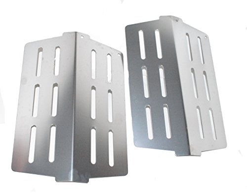 - Weber 65505-2PK Heat Deflector fits most 2011 Genesis and newer grills (replacing 62756 and 7622).