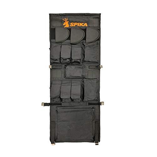 SPIKA Gun Safe Door Panel Organizer(16W46H) Adjustable Width Up to 19inch