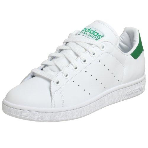 adidas Originals Men's Stan Smith 2 Sneaker,White/Green,6 ()
