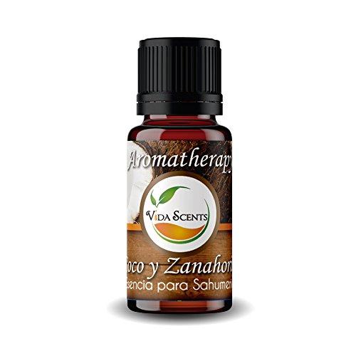 Aceite Esencial Aromaterapia Varios Aromas 100% puro y natural 10 Ml. (Coco & Zanahoria)