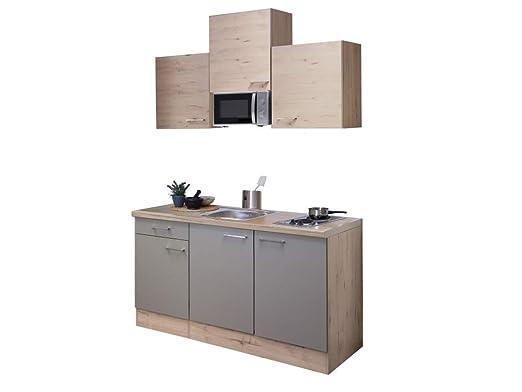Smart Möbel Rodello - Bloque de Cocina (150 cm, Cuarzo ...