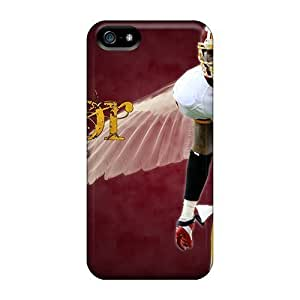 Rosesea Custom Personalized For Iphone Cases, High Quality Washington Redskins For Iphone 5 5s Covers Cases