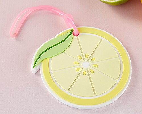 60 Lemon Slice Luggage Tags by Kate Aspen