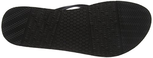 Tj Sandal Tommy Tongs Jeans Love Beach Noir 990 Femme black AxEIEq