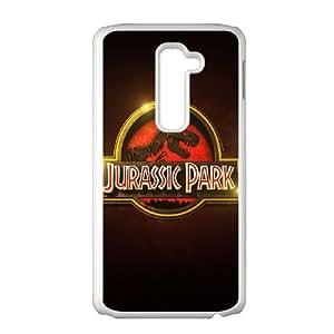 Jurassic-Park LG G2 Cell Phone Case White NRI5115123