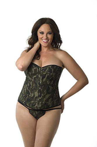 ed35d0e163 The product is already in the wishlist! Browse Wishlist · Plus-Size- Commanding-Camo-Corset-for-Women-1067x