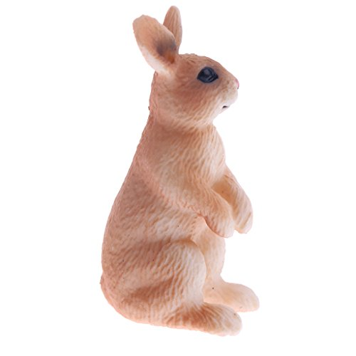 Perfk 昆虫 動物模型 リアル モデル フィギュア 子ども 教育玩具 知育玩具 - ウサギの商品画像