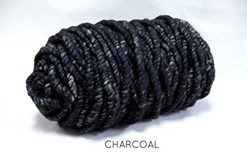 Loopy Mango 17 OZ. Mini Merino Wool (Charcoal) by Loopy Mango