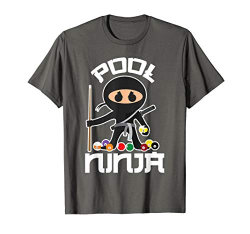 Pool Ninja Shirt | Cute Pocket Billiards Lover T-shirt Gift