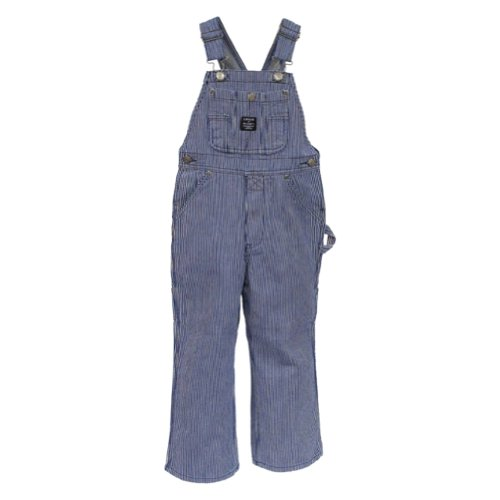 Key Children's Hickory Stripe Bib Overall - Sizes: 4-7