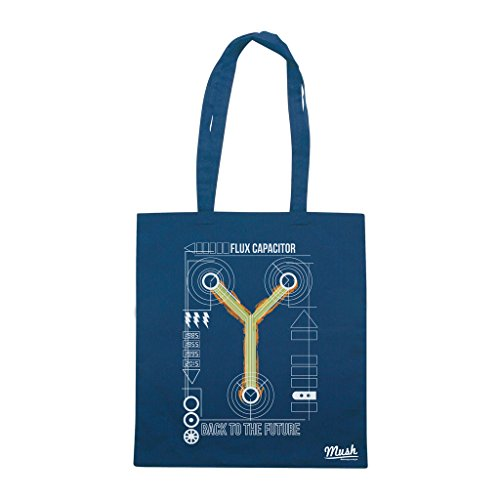 Borsa FLUX CAPACITOR - Blu navy - FILM by Mush Dress Your Style