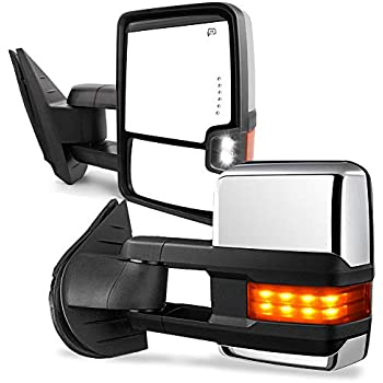 Amazon.com: ModifyStreet Power Side Towing Mirrors with ... on