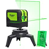 Cross Line Laser Level with Plumb Dot Up Dot - Huepar 9211G Green