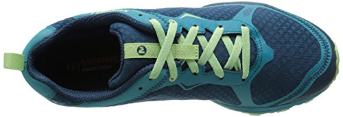 Merrell All Out Crush Light, Zapatillas de Running para Asfalto para Mujer, Rosa Multicolor (Bright Green)