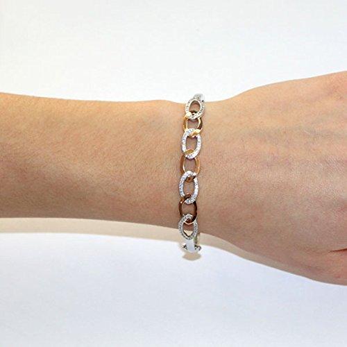 Goldmaid - Pa A6706S - Bracelet Femme - Argent 925/1000 16.1 Gr - Oxyde de Zirconium