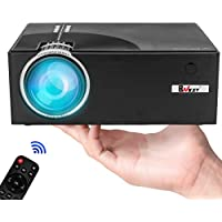BNEST C7 720p 1500-Lumens LED Portable Projector