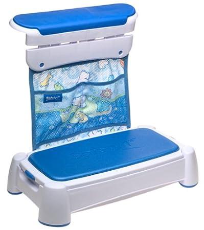Amazon.com : Safety 1st Tubside Kneeler Step Stool : Toilet ...