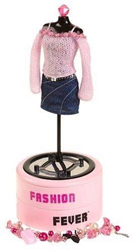 Amazoncom Barbie Fashion Fever Jewelry Box Toys Games