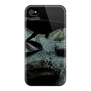 KKFAN Case Cover Protector Specially Made For Iphone 4/4s Submerged
