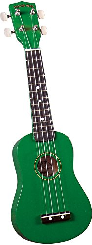 Diamond Head DU-105 Rainbow Soprano Ukulele - Green by Diamond Head