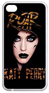 Seller Online Design Star Series -Katy Perry ROAR TPU Protection Case Cover for iphone 5 5s