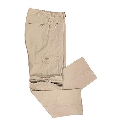 gran o Abraxas 10xl de hasta Pantalones de tama arena con cremallera wYq8xZF4