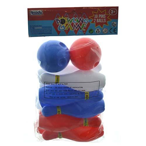 DollarItemDirect Mini Bowling 12pc Play Set, Case of 24 by DollarItemDirect (Image #1)