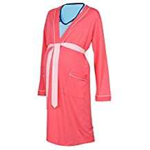 Happy Mama Maternity Gown Robe Nightie for Labour & Birth. SOLD SEPARATELY 393p