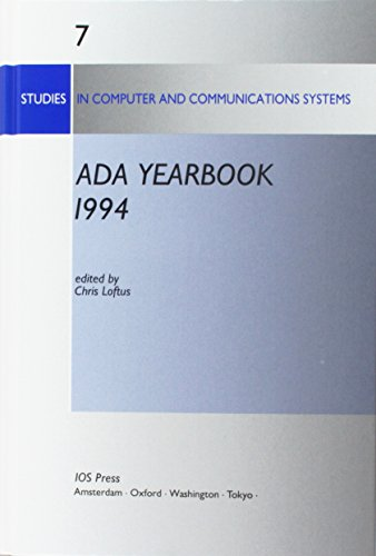 ADA Yearbook 1994, (Studies in Computer and Communications Systems, 7) by Ios Pr Inc