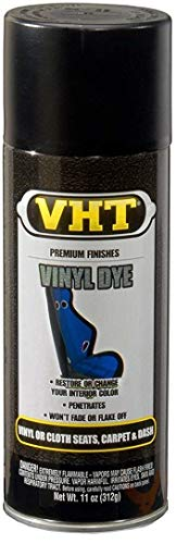 VHT  ESP942000 Vinyl Dye Black Satin Can - 11 oz. (8 Pack)
